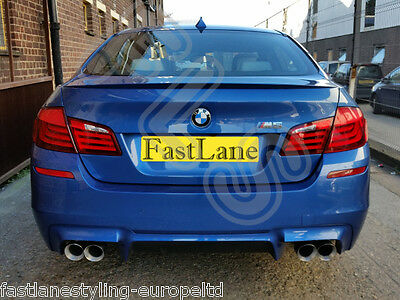 BMW M5 F10 Custom Built Stainless Steel Exhaust Rear Dual System BF101