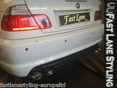 BMW 3 Series Custom Built Stainless Steel Exhaust Rear Dual System B304