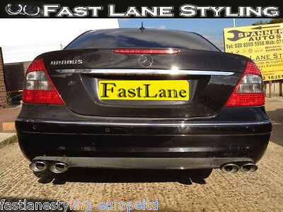 Mercedes Custom Build Stainless Steel Exhaust Cat Back Dual System LTDME02CB785