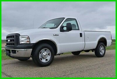 2005 Ford F-250 XL Pickup Truck 2005 Ford F-250 XL Diesel 2WD Clean! NO RESERVE! OR BUY IT NOW!