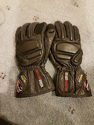 DriRider leather Leather motorcycle gloves