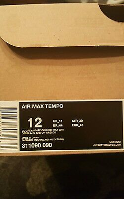 bcb692f0d0 ONLY ONE ON Ebay!!! Nike Air Max Tempo Low Us13 Uk12 308828-011 ...