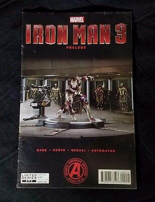 Iron Man 3 Prelude Limited Series 2 of 2  (2012) FN+