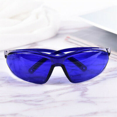 New Portable Safety Red Laser Protection Goggle IPL E-Light Blue Glasses  GT
