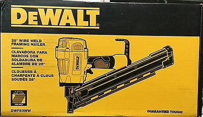 DeWALT 28 degree Wire Weld Pneumatic Framing Nailer