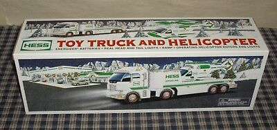 2006 Hess Toy Truck & Helicopter MIB