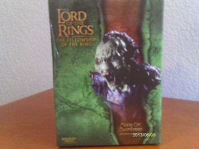 Lord Of The Rings Moria Orc Swordsman Bust ! Fellowship ! Sideshow Weta !