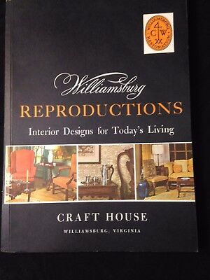 Williamsburg Reproductions Craft House Catalog 1965 + Price List