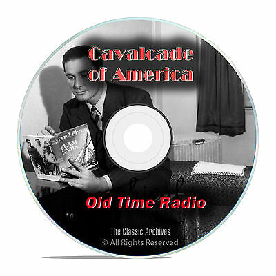 Cavalcade of America, 799 Old Time Radio Drama, Music, Variety Shows OTR DVD G50