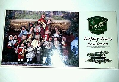 New Byers Choice Display Riser for Christmas Carolers New