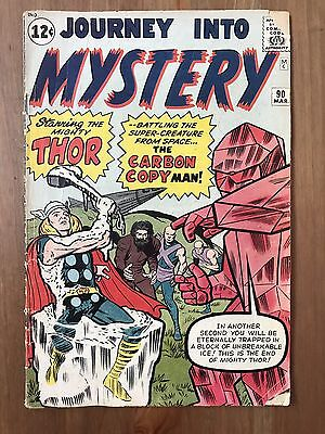Journey Into Mystery 90 (Thor) 1st Appearance Of Xartans; Kirby; Ditko; 1963