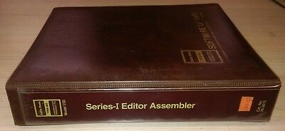 TRS-80 software: Series I Editor Assembler for the Model I / III