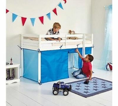 Chad Valley Blue Tent for Shorty Mid Sleeper Bed Frame NEW