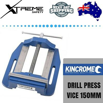 "Kincrome Heavy Duty Industrial Workshop Drill Press Vice 150mm 6"" Universal Fit"