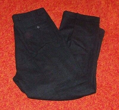 VTG J Peterman Lamb's Wool Pleated Pants SIZE 42 Made in USA
