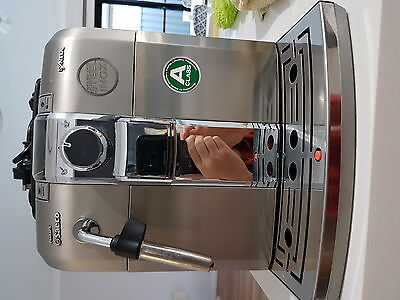 Philips Saeco Syntia Super-automatic Espresso Machine HD8837  Stainless Steel