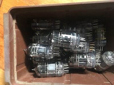 12AX7 Tubes Valves ECC83 12AX7A Chinese  New & Used $8 Each Or $12 Each New