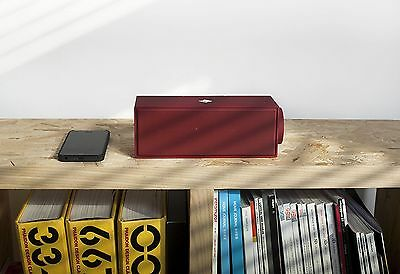 Native Union Swtich Portable Bluetooth Speaker, Charger and Speakerphone - Red