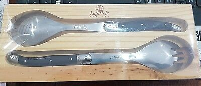 Brand New Laguiole Premier Salad Servers ( Black )