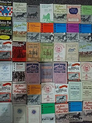 42 X Tasmanian Trotting Race Books