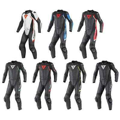Dainese Avro D1 Two Piece Leather Motorcycle Racing Suit All Colours & Sizes