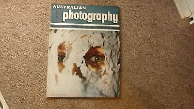 1967 AUSTRALIAN PHOTOGRAPHY MAGAZINE, CAMERAS, LENS, FILM etc, AUGUST
