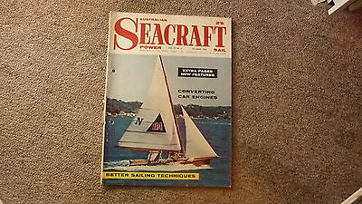 Old Australian Sailing & Boating, Power Seacraft Magazine, Dec 1960