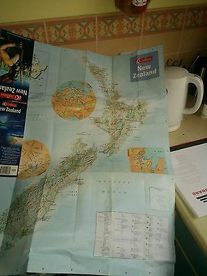 Used Map of New Zealand