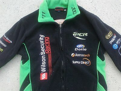 Wilson security racing 111 & 333 fully sponsored V8 supercars jacket