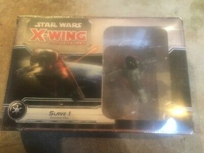 Slave I Expansion Pack - Star Wars X Wing Miniatures Game.