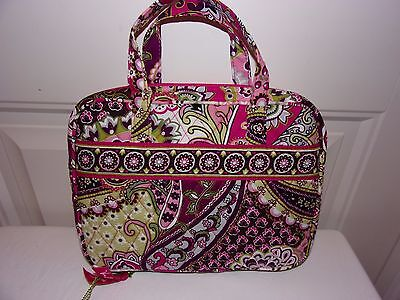 Vera Bradley New With Tags Good Book Cover Very Berry Paisley Free Shipping