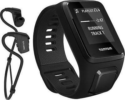TOMTOM Spark 3 + Music with Sport Bluetooth Headphones Black Small Waterproof