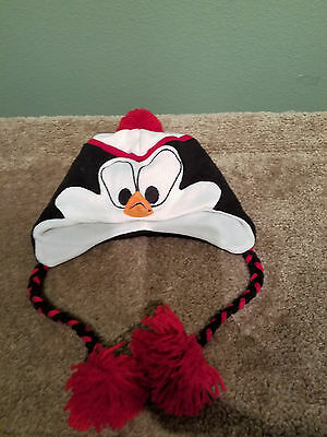 Chilly Willy kids childs boys girls hat winter penguin