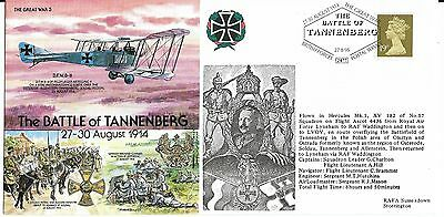 "Cover Commemorating ""The Battle of Tannenberg"" 1914"
