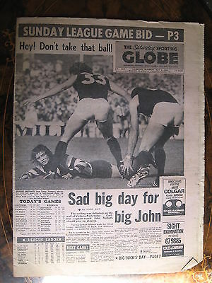 Sporting Globe MAY 4 1974 John Nicholls Carlton