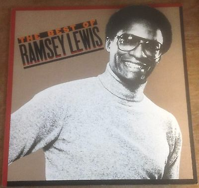 RAMSEY LEWIS the best of ramsey lewis 1980 CBS STEREO VINYL JAZZ FUSION LP
