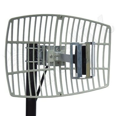 Altelix 2.4GHz 15dB WiFi Grid Antenna Outdoor Directional Parabolic w/ N Female