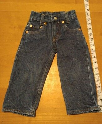 Vintage Infant Levi's Size 0-3 Months Made In USA Levi 501 Jeans Size 0 18x11