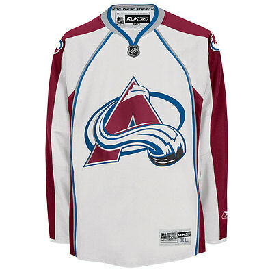 NHL Colorado Avalanche Premier Youth Ice Hockey Shirt Jersey Top