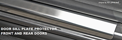 Mercedes Sprinter W906 Chrome Door Sill Plate Protector 2 pcs Stainless Steel