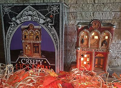 CREEPY HOLLOW ~ Blood Bank ~ Original Midwest Cannon Falls Halloween House
