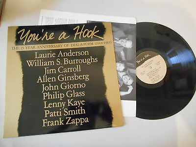 LP VA You're A Hook - 15 Year Anniversary (9 Song) GIORNO POETRY SYSTEMS / OIS