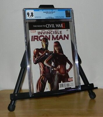 Invincible Iron Man #7 CGC 9.8 1st Riri Wiliams 1st Tomoe
