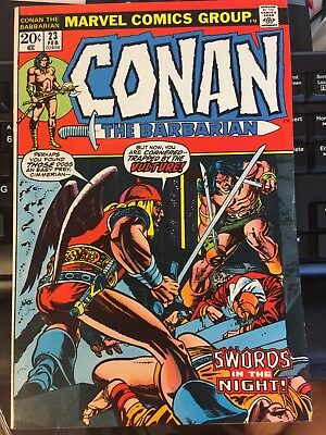 Conan the Barbarian #23 (Feb 1973, Marvel), First Red Sonja, Nice!