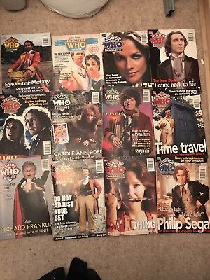 Doctor Who Magazine Lot