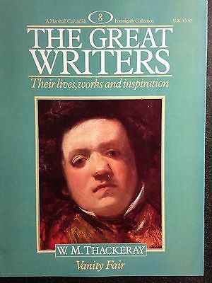 Marshall Cavendish '87 Great Writers Magazine #8 W M Thackeray - Vanity Fair