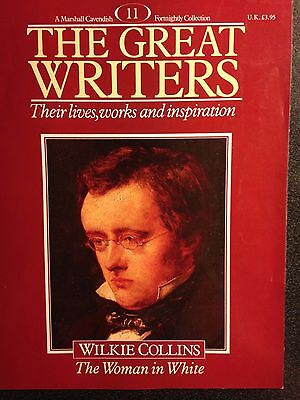 Marshall Cavendish '87 Great Writers Mag #11 Wilkie Collins The Woman in White