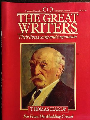 Marshall Cavendish '87 Great Writers Mag #1Thomas Hardy: Far From Madding Crowd