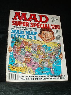 Mad Super Special Winter 1981 ( With Original Map Included )