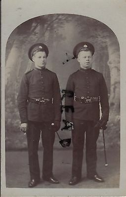 Soldier group regular battalion Rifle Brigade in full dress Belfast